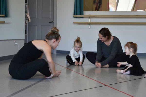 Tiny tots dance lessons